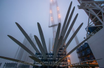 Load out offshore windfarm Nobelwind
