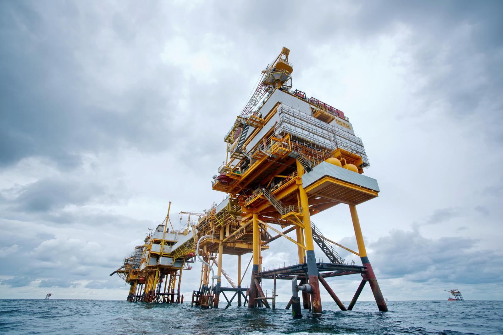 GDF SUEZ Gas production platform