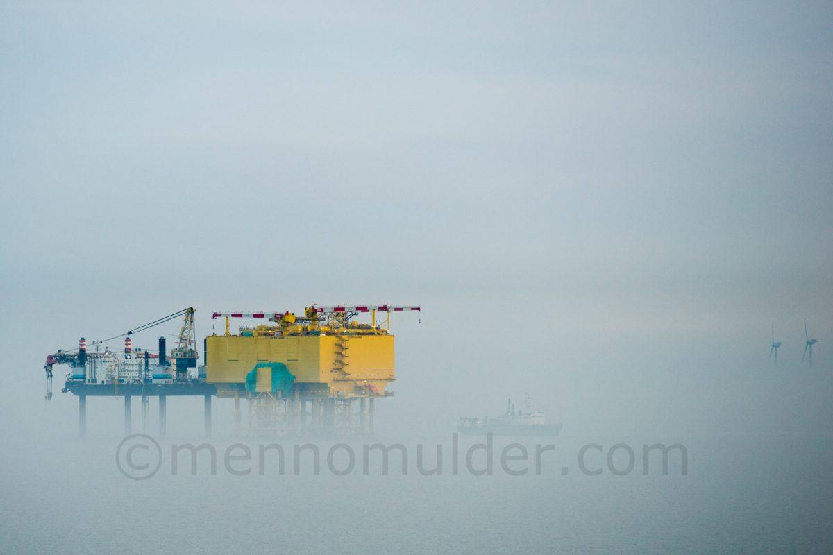 The offshore high voltage station at Borkum Riffgrund