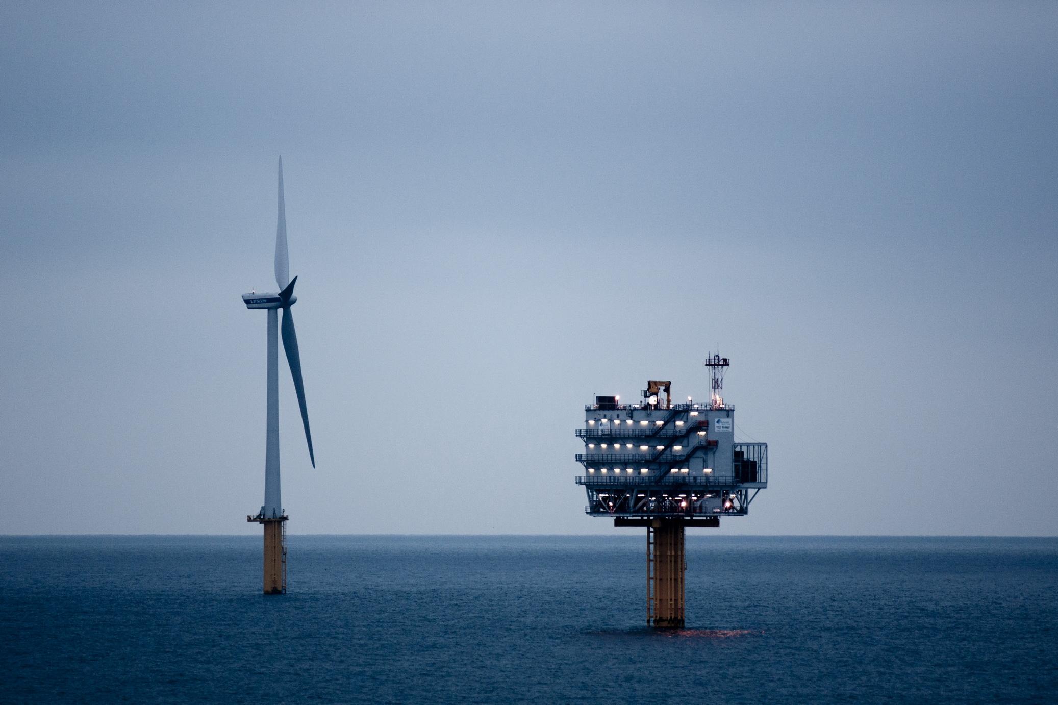 OHVS Belwind wind farm