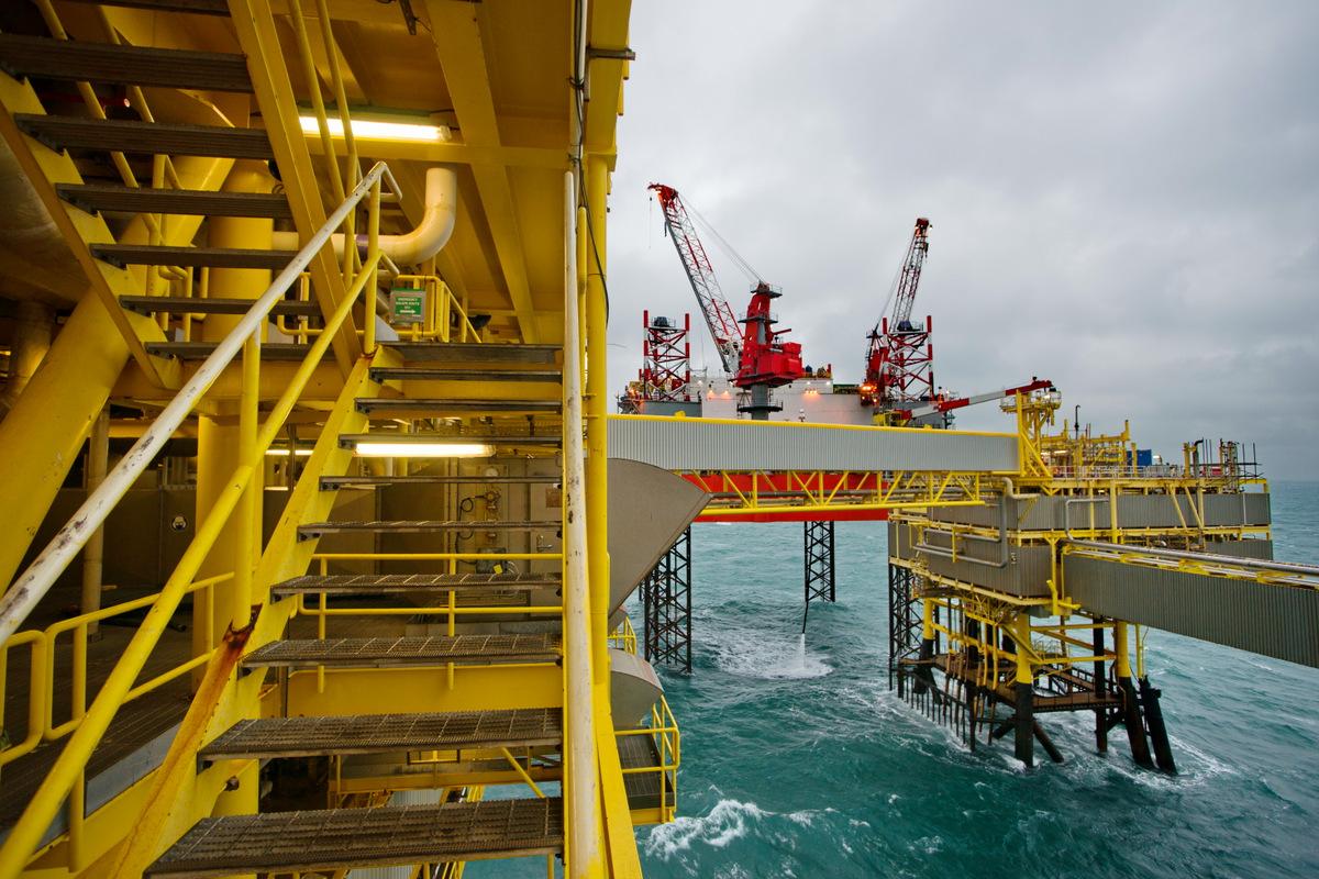 Total offshore platform K5