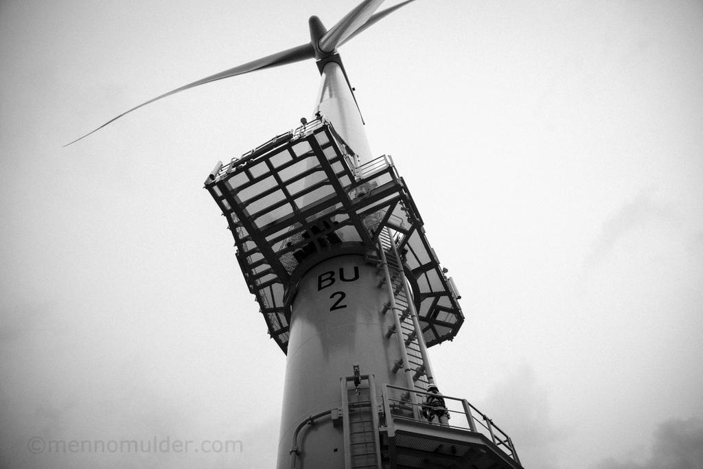Offshore windturbine Butendiek Windfarm