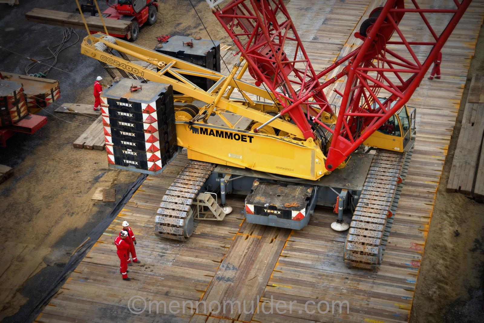Mammoet heavy lift for Nobelwind