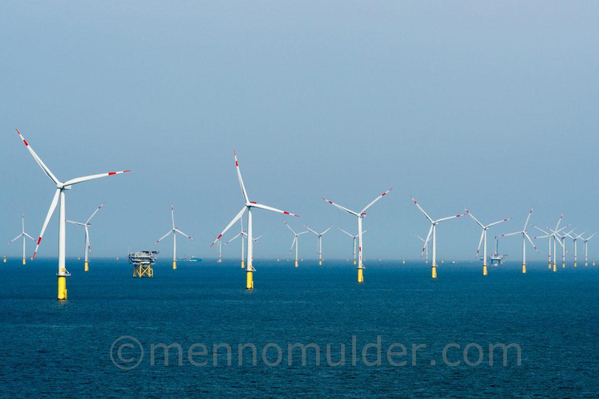Offshore windfarm Borkum Riffgrund
